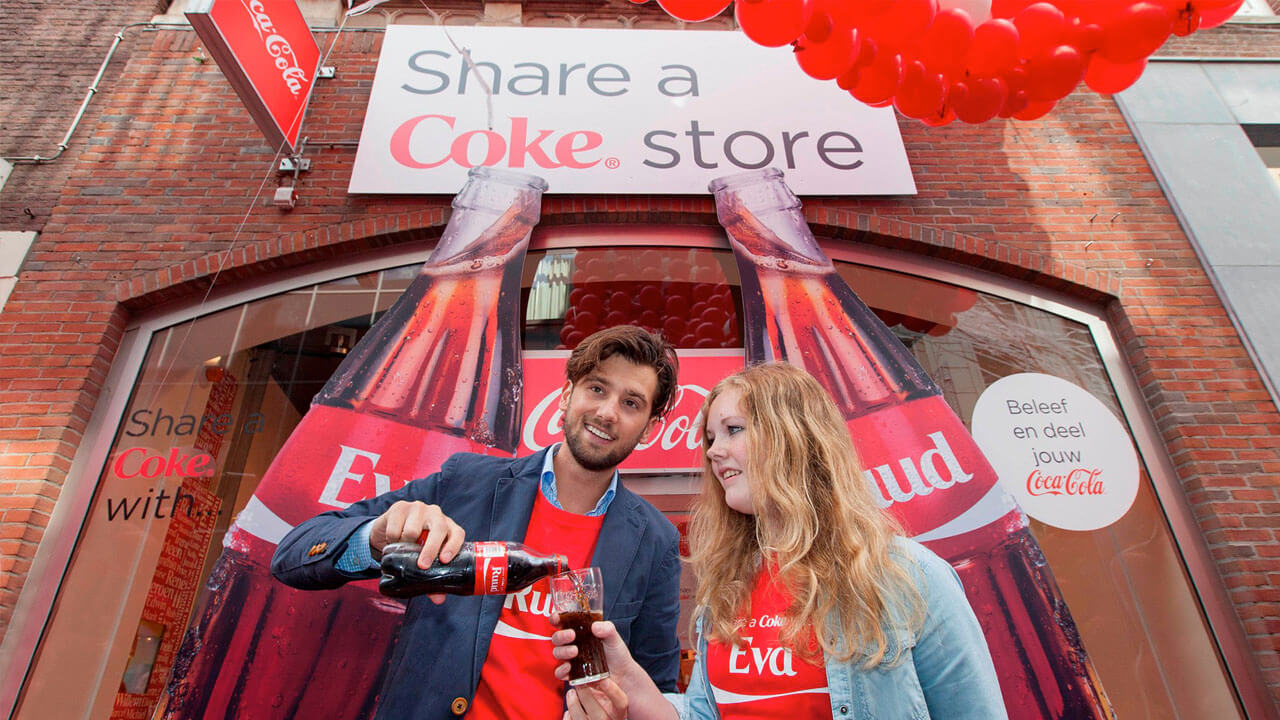 Coca-Cola – Share a Coke Pop-up Store