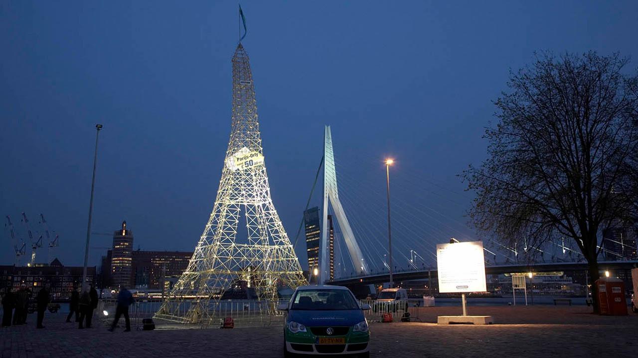 Transavia-Eiffeltoren-PR-activatie