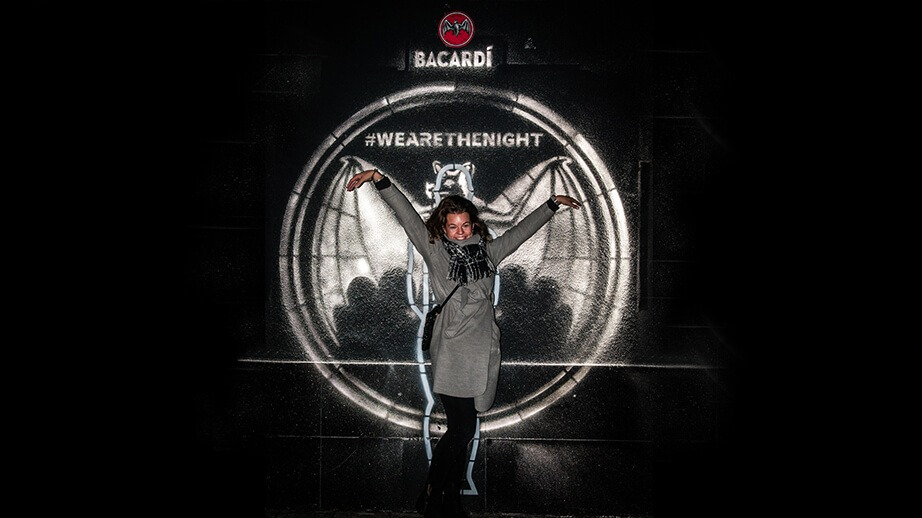 Bacardi – Flash Wall