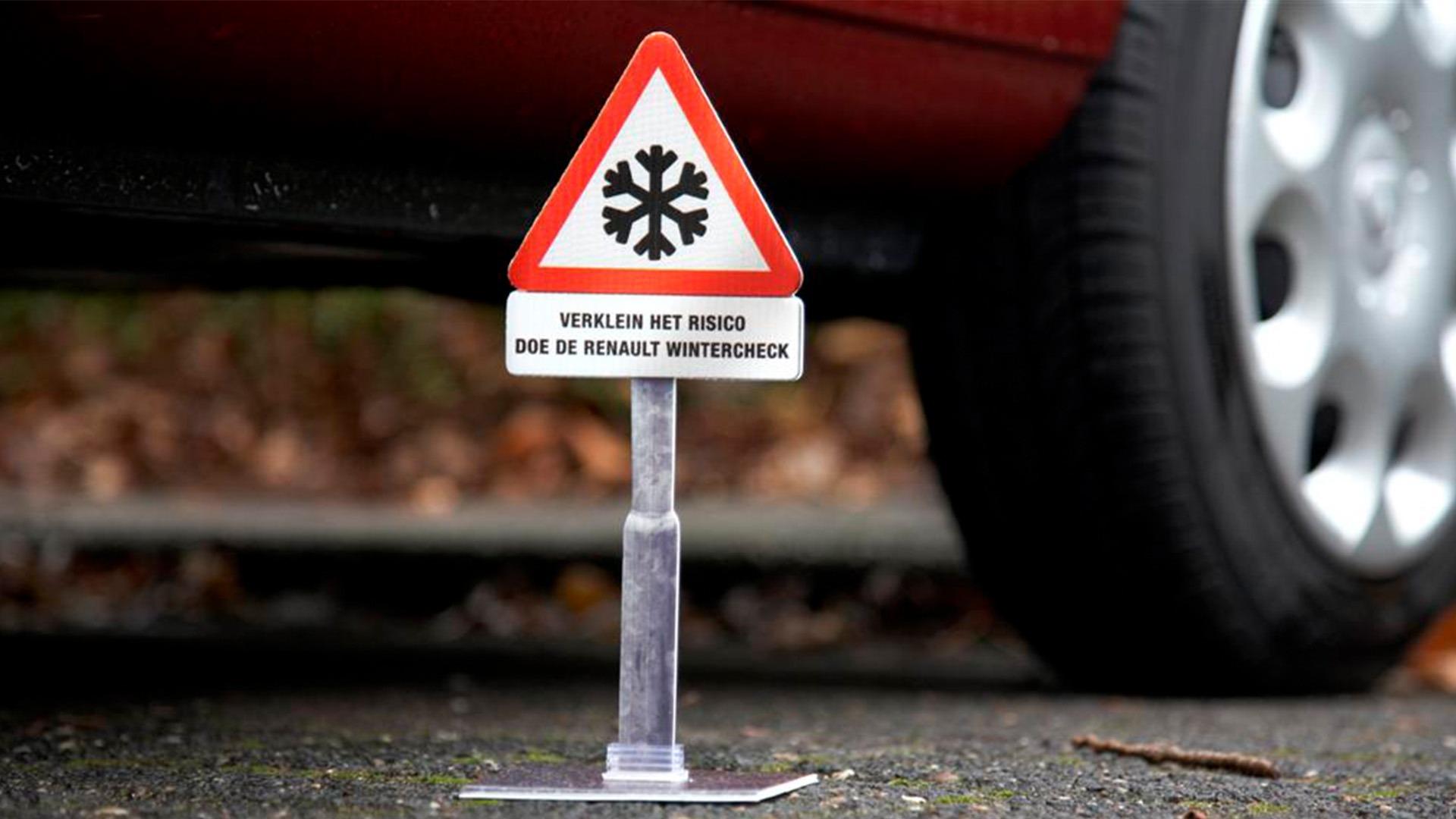 Renault-Winteractie-guerilla-actie