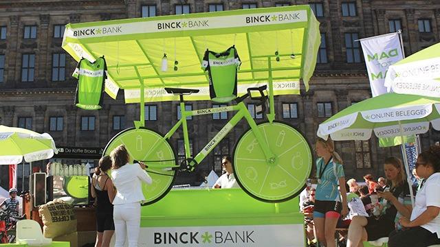 Binckbank – Fietsrad van Fortuin